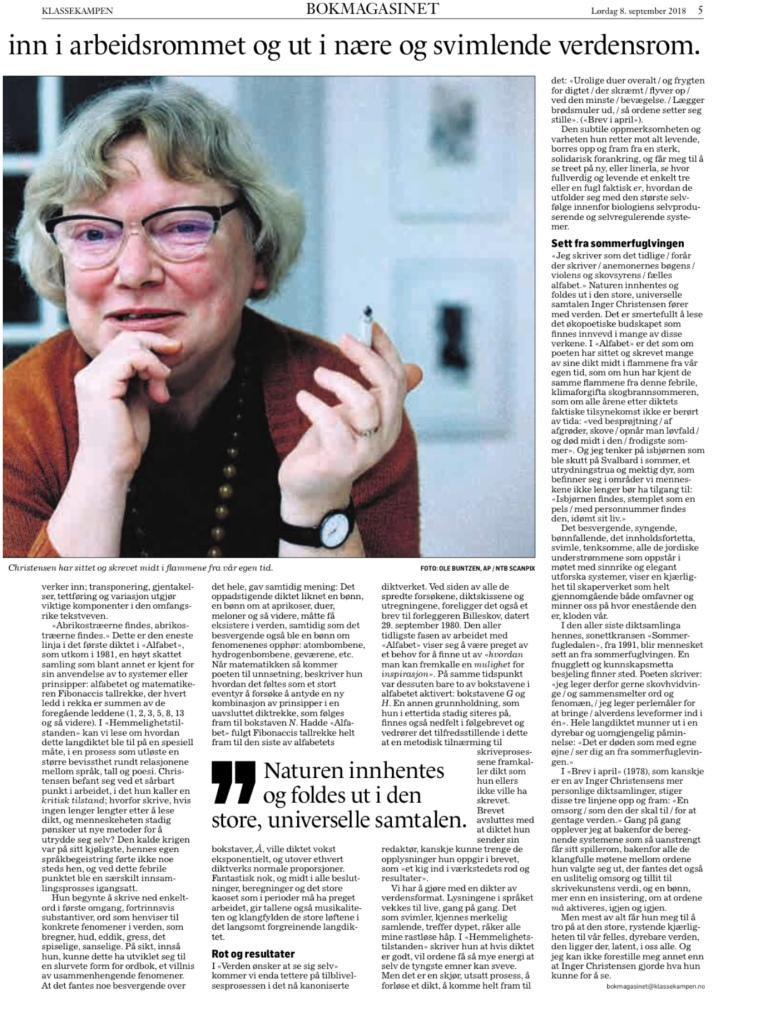 Dikt og essays   Aasne Linnestå